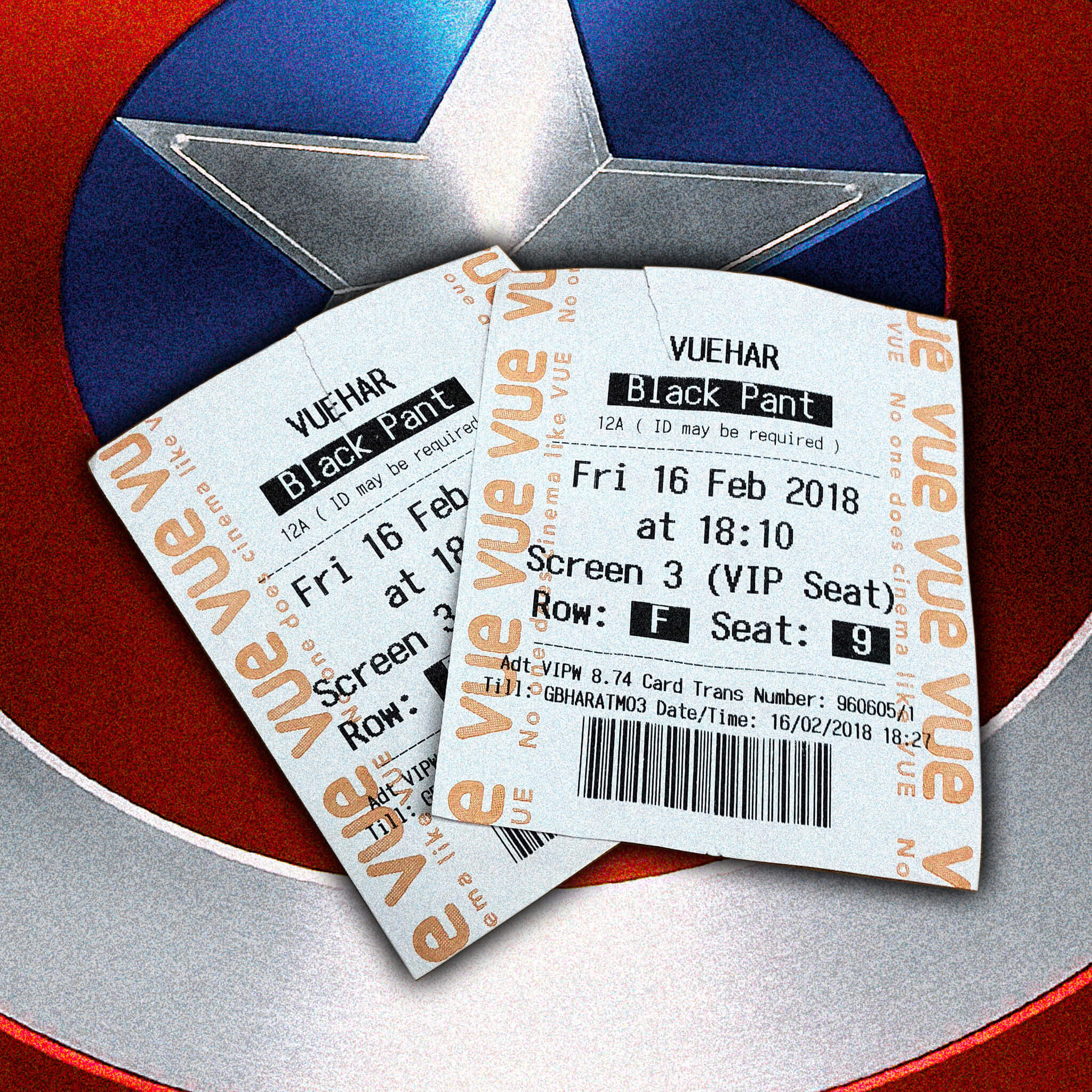 Black Panther Film Tickets - Photo Credit: brett jordan (Flickr)