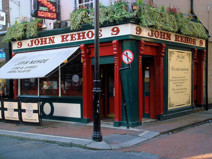 Kehoe's pub in Dublin.