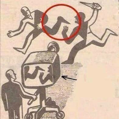 Media depiction of major events in society