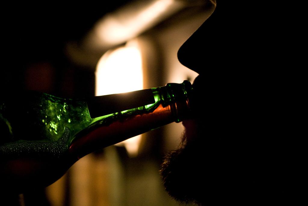 Drinking. Photo Credit: notcub.