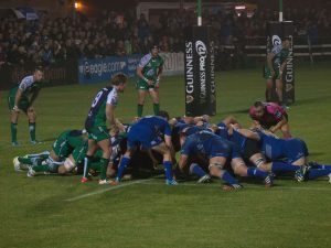 Leinster are looking to advance to the semi-finals of the Champions Cup. Photo credit: deek ay.