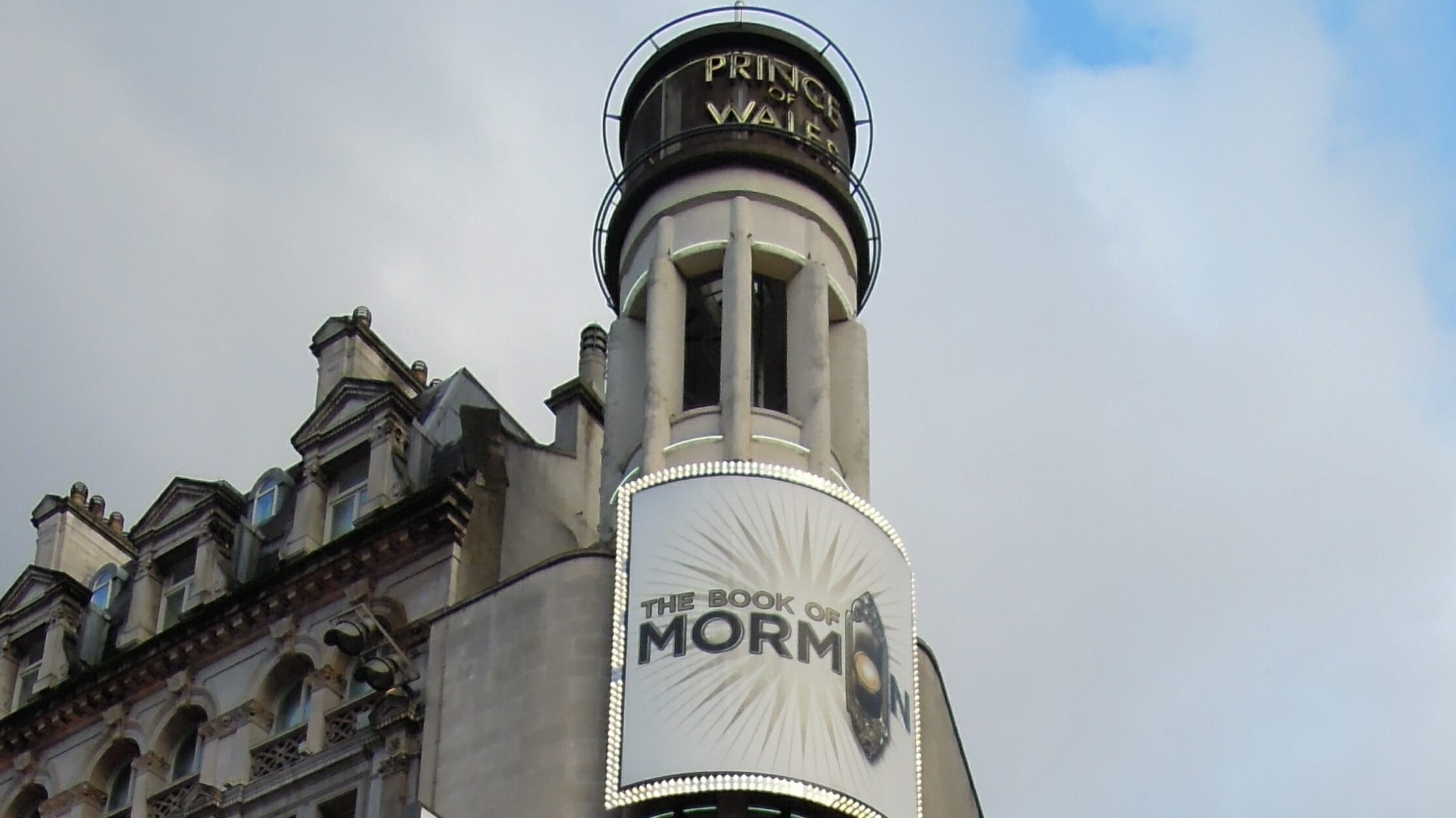The Prince of Wales Theatre, London. (Photo Credit: David McKelvey via flickr)