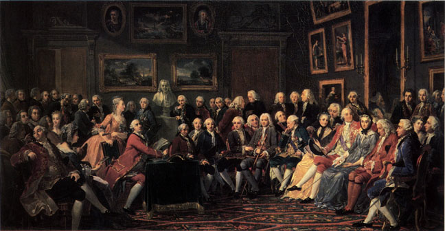 The French Salon - The Bourgeois Public Sphere.
