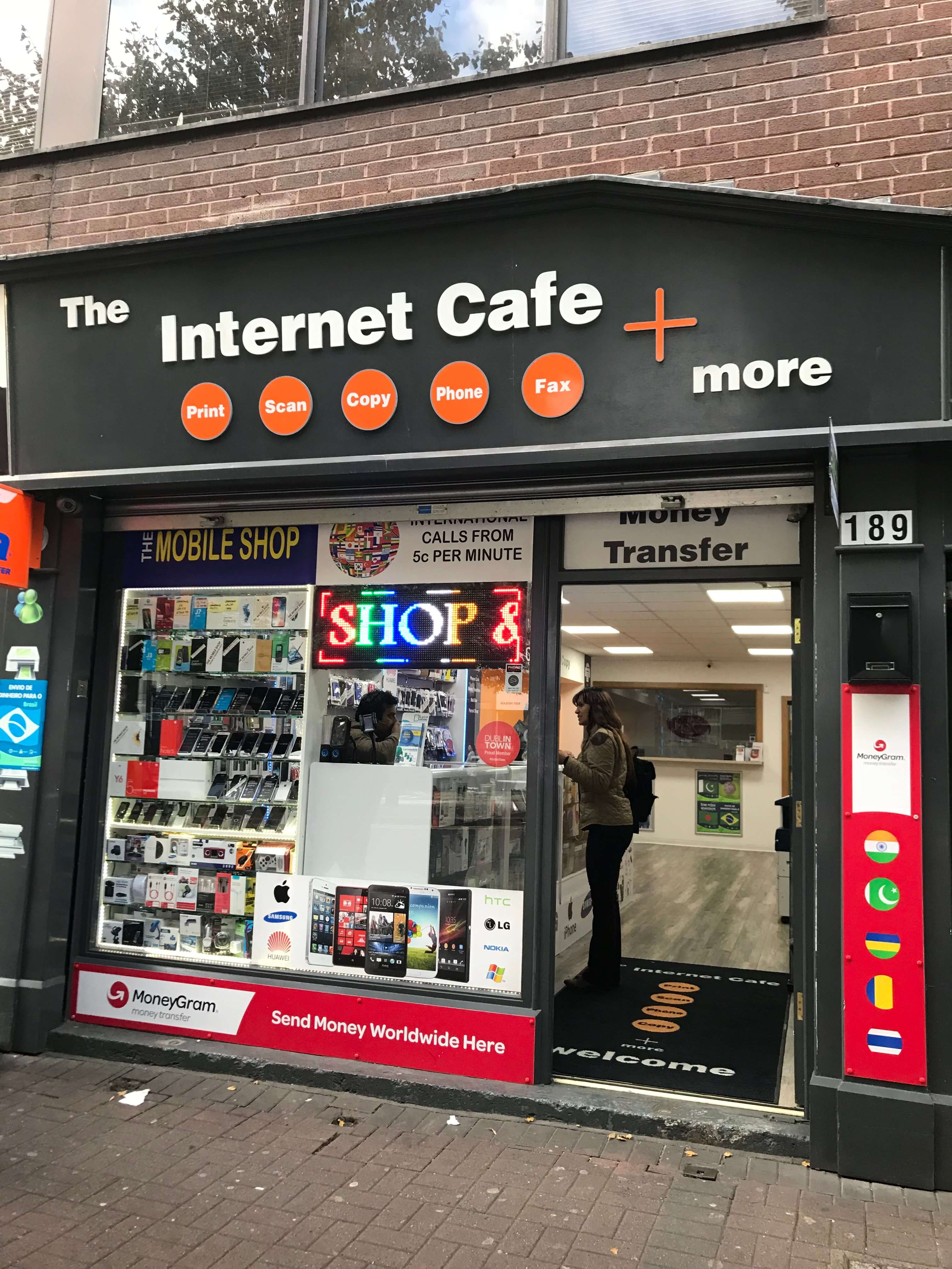 The Internet Cafe + more, Parnell Street