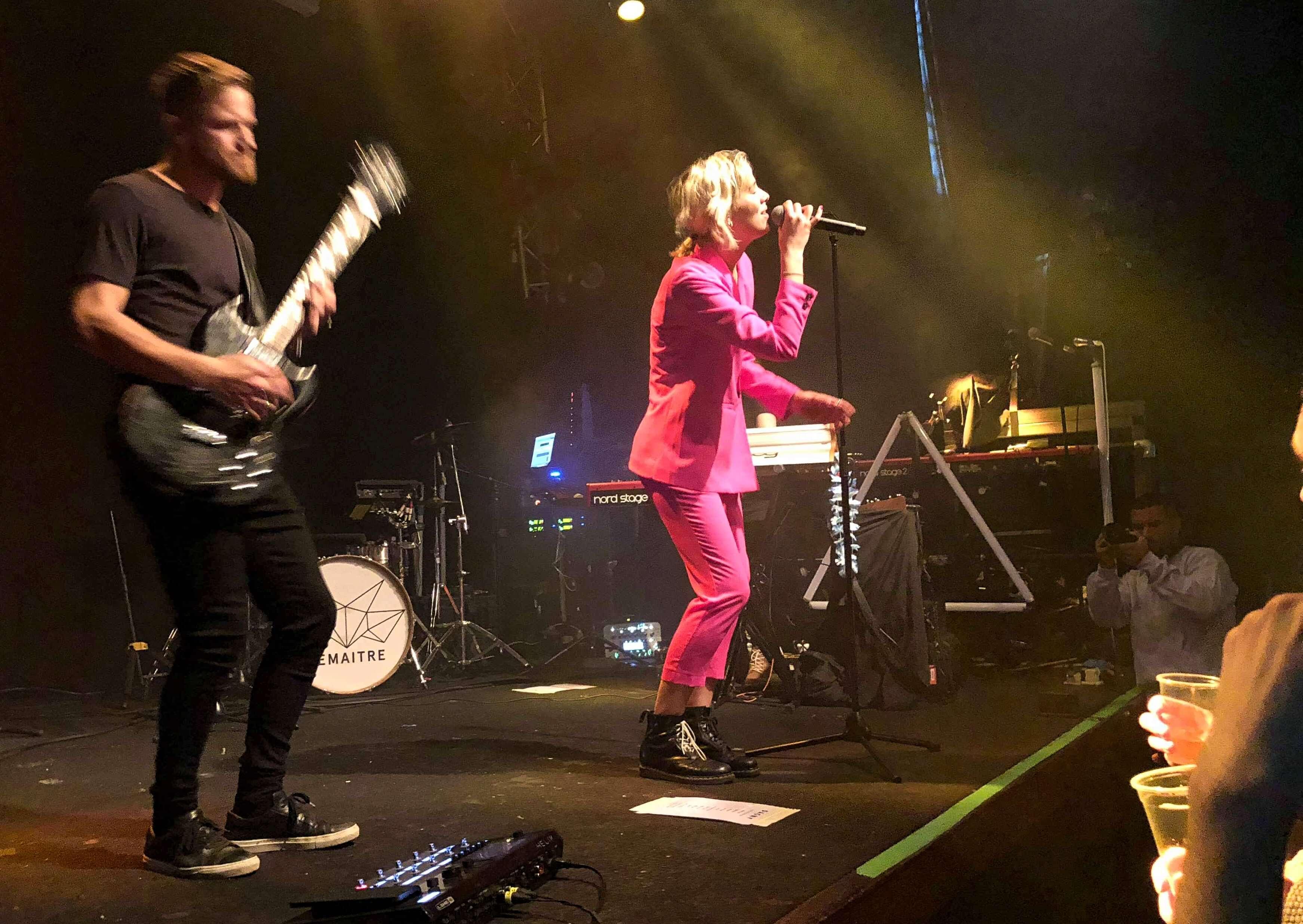 Dagny with her band. Image credit: Stine Ødegård