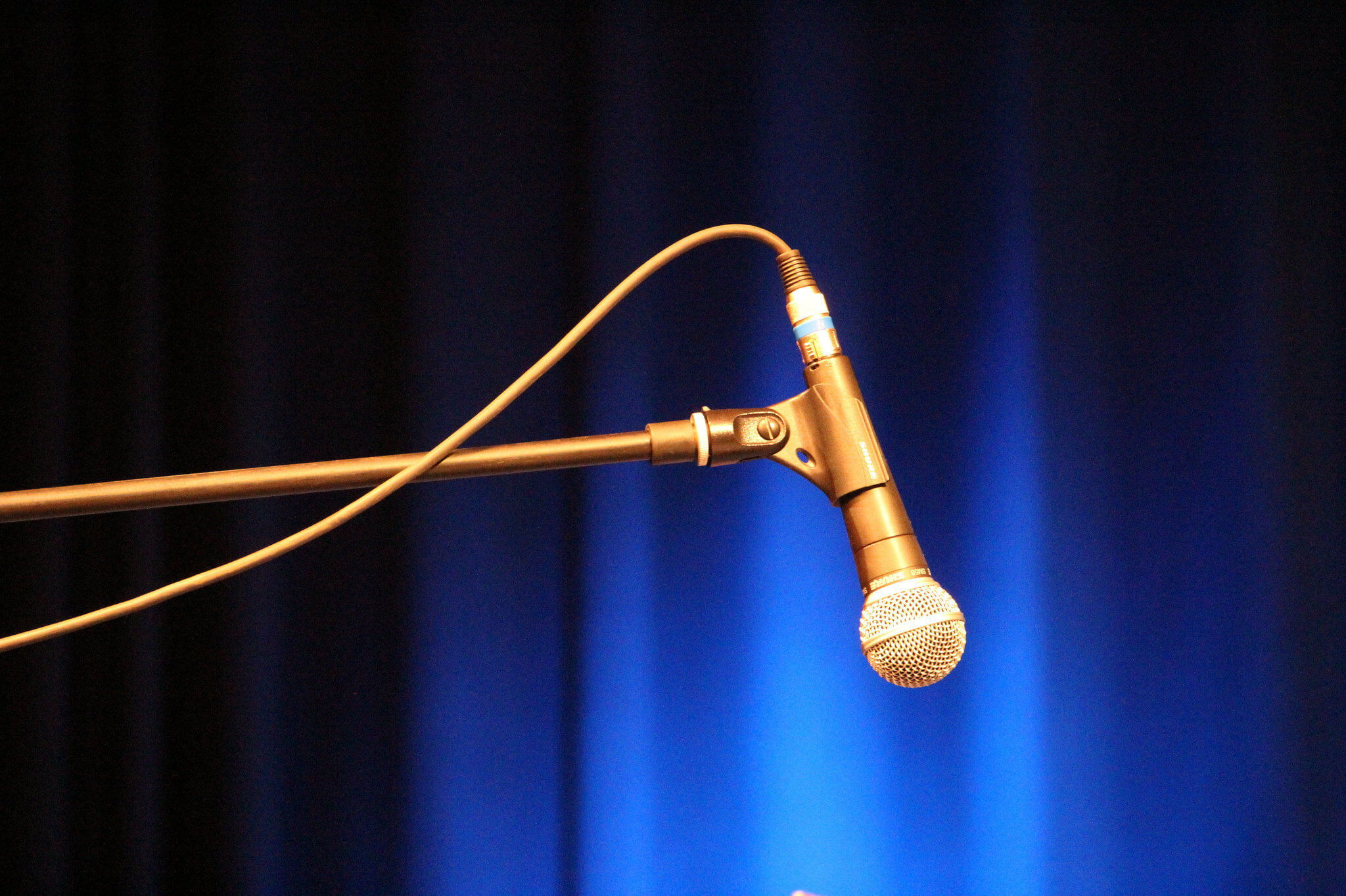 Microphone: Photo Credit Bela Troszt (Flickr.com)
