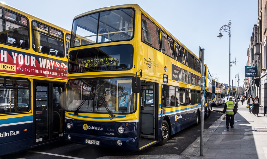 Dublin Bus planscould disrupt health services. Credit: William Murphy (Flikr)